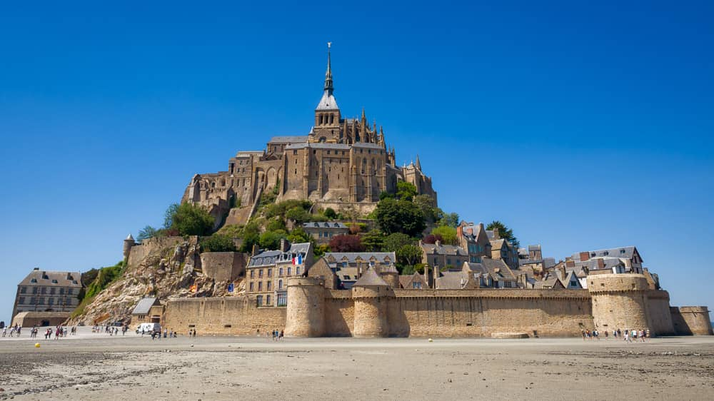 Day Two: Saint Malo to Mont Saint-Michel | France Fully Loaded Cycle Tour