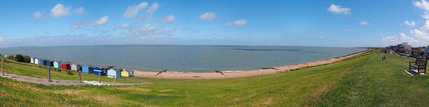 View of View of Tankerton, Whitstable, Kent UK