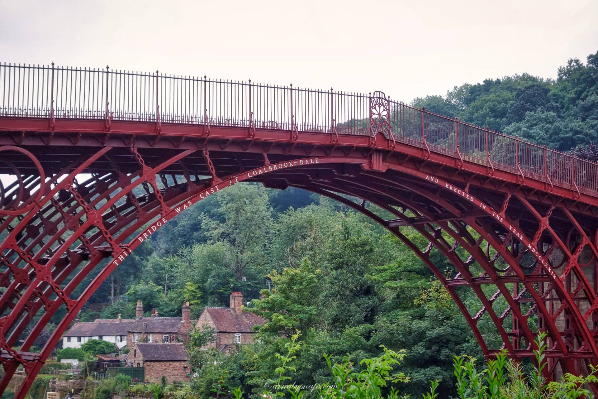 Coalbrookdale & The Iron Bridge, Telford & Ironbridge 3 Day Cycle Touring Trip: Part Three