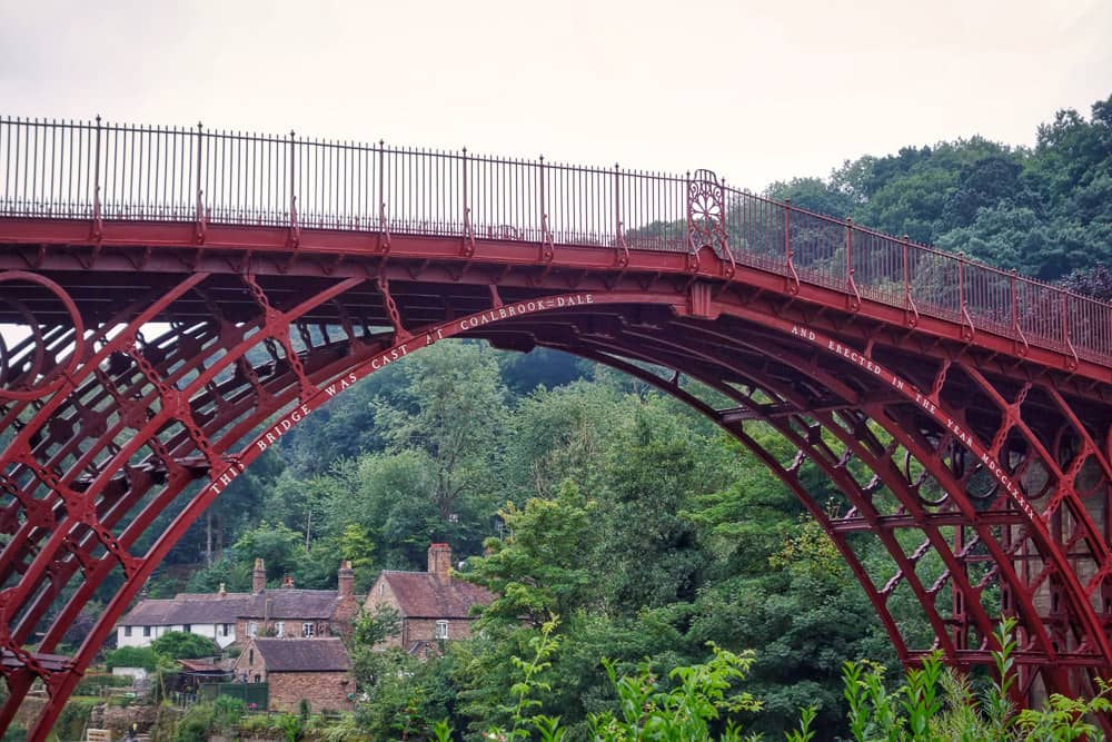 Coalbrookdale & The Iron Bridge, Telford & Ironbridge 3 Day Cycle Touring Trip: Part Three
